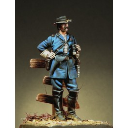 Historical figure kits 54mm Pegaso Models. General Buford.