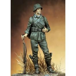 90mm Figure Kits.Wehrmachtschütze im Feldanzug, 1939.