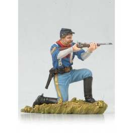 Figurine de cowboy Andrea Miniatures 54mm Toy soldier ,cavalier US.