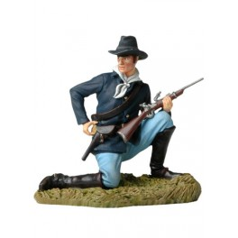 Figurine de collection Andrea Miniatures 54mm Toy soldier ,cavalier US