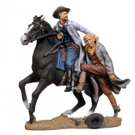 Andrea Miniatures 54mm Toy soldier ,Cole Younger sauvant  Jim.