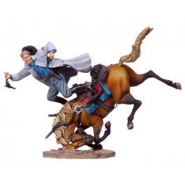 Andrea Miniatures 54mm Toy soldier ,Cleg Miller Touché.