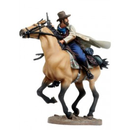 Figurine de collection Andrea Miniatures 54mm Toy soldier ,Frank James.