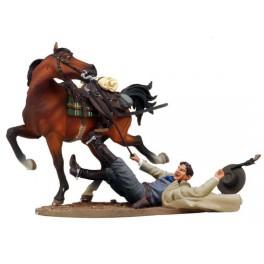 Andrea Miniatures 54mm Toy soldier ,Le projet de loi Chadwell  shot down.