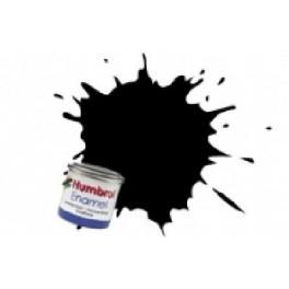 Peinture Humbrol 14ml N85 Noir anthracite Satiné.