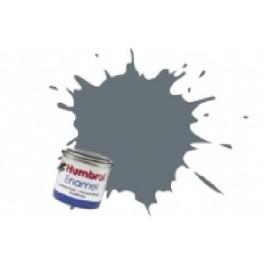 Peinture Humbrol 14ml N123 Gris mer satiné .