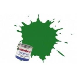 Peinture Humbrol 14ml N131 Vert moyen satiné.