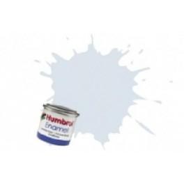 Peinture Humbrol 14ml N191 Argent crome finition métalique.