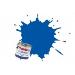Peinture Humbrol 14ml N222 Bleu nuit métallique.