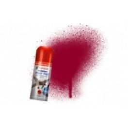 Bombe de peinture acrylique 150ml humbrol N219 Rouge italien foncé brillant