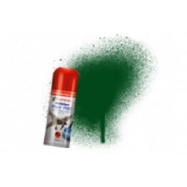 Bombe de peinture acrylique 150ml humbrol N3 Vert brunswick brillant.