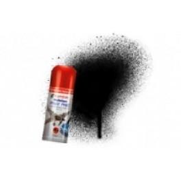 Bombe de peinture acrylique 150ml humbrol N21 Noir brillant.