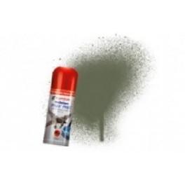 Bombe de peinture acrylique 150ml humbrol N86 Vert olive claire mate.