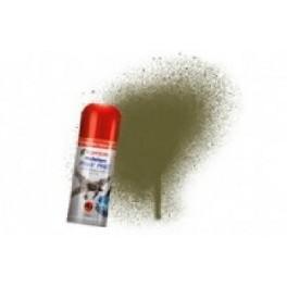 Bombe de peinture acrylique 150ml humbrol N155 Olive drab mate.