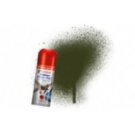 Bombe de peinture acrylique 150ml humbrol N163 Vert foncé satiné.