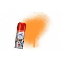 Bombe de peinture acrylique 150ml humbrol N205 Orange fluorescent.