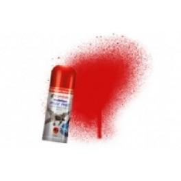 Bombe de peinture acrylique 150ml humbrol N220 Rouge ferrari italien brillant.
