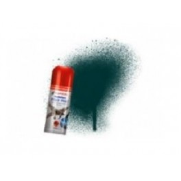 Bombe de peinture acrylique 150ml humbrol N239 Vert Anglais brillant.