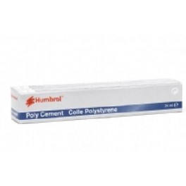 Colle polystyrène 12ml en tube Humbrol.