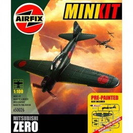 Airfix 1/100e MINI KIT MITSUBISHI ZERO