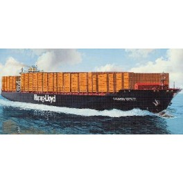 """PORTE CONTAINERS """"COLOMBO EXPRESS"""" Maquette 700e Revell."""