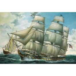 U.S.S. UNITED STATES Maquette 150e Revell.