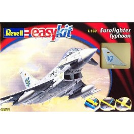 "EUROFIGHTER ""TYPHOON"" easy kit Maquette Revell 1/100e."