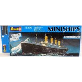 R.M.S. TITANIC - SERIE MINISHIPS Maquette Revell 1/1200e.