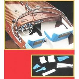 KIT ACCESSOIRES pour RIVA AQUARAMA 1970 1/10e Amati.