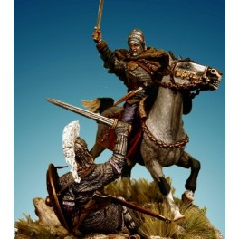 Sodliers 54mm.Siegfried Germanic figure kits.