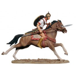 Figurine de collection Andrea miniatures Cavalier Ibérique 54mm.