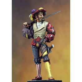 Figurine de Lansquenet 1515 Romeo Models 54mm.