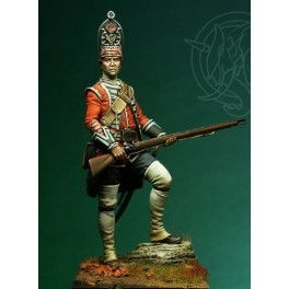 Romeo Models 75mm, English Grenadier 18th Foot - 1751 figure kits.