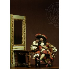 Figurine de corsair Romeo Models 75mm, Jean Bart  1650-1702
