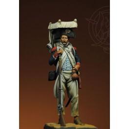 Romeo Models 75mm,Line Infantry Grenadier, Landing Uniform - Egypt 1798 figure kits.