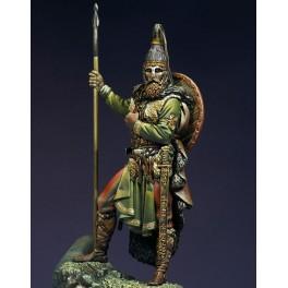 Slavic Warrior, VII century A.D.Pegaso figure kits 75mm.