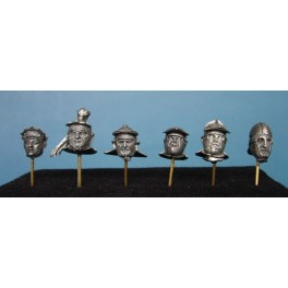 Soldiers 54mm.Roman Helmet ,IIe-IVe century figure kits.