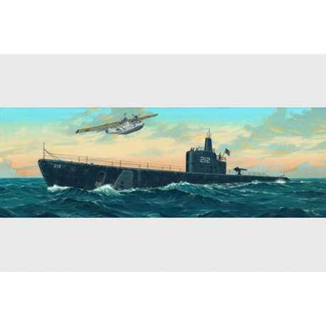 "Trumpeter 1/144e SOUS-MARIN USS SS-212 ""GATO"" 1941"