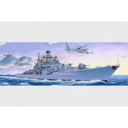 """DESTROYER SOVIETIQUE CLASSE """"SOVREMENNIY"""" TYPE II -  Maquette bateau Trumpeter 1/200e"""