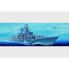 "Trumpeter 1/350e CROISEUR LANCE MISSILES RUSSE ""MOSKVA"" 2002"