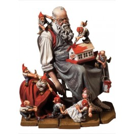 Andrea miniatures,54mm.Santa's Rest figure kits.