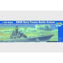 CROISEUR DE BATAILLE USSR FRUNZE. Maquette de navire de guerre. Trumpeter 1/700e