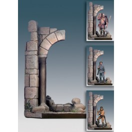 Andrea miniatures,54mm.Roman ruined arch.