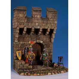 Andrea miniatures,54mm.Medieval Castle Section.