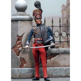 Andrea miniatures,figuren 54mm.Husar, 15. Regiment.