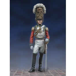Andrea miniatures,54mm.Colonel du 2e Life Guards,1824.