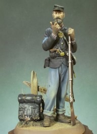 Andrea miniatures,90mm figure kits.US Infantry Sergeant, 1863.