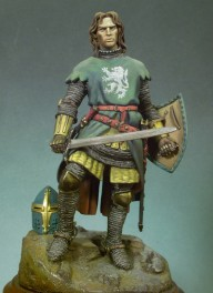 Andrea miniatures figure kits ,90mm.Medieval Knight (1320).