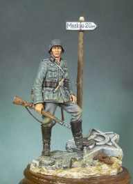 Andrea miniatures,90mm.German Infantryman figure kits(1941)